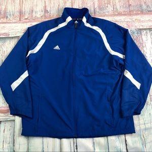 Adidas Men's Full Zip Up Light Jacket